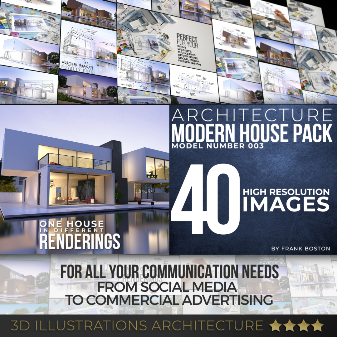 Modern house 003